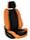 Оранжевый + черный
