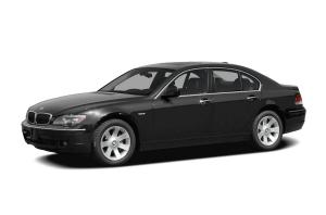EVA коврики на BMW 7 (E65) 2001 - 2008