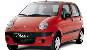 EVA коврики на Daewoo Matiz 2000 - наст. время