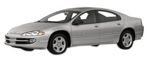 EVA коврики на Dodge Intrepid II 1998 - 2004