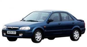 EVA коврики на Mazda 323 VI (BJ) 1998 - 2003