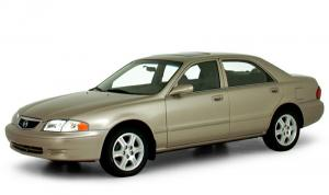 EVA коврики на Mazda 626 V 1997 - 2002