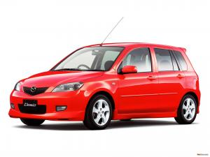 EVA коврики на Mazda Demio (DY, правый руль) 2002 - 2007