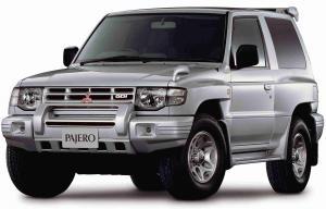 EVA коврики на MitsubishiPajero II (правый руль) 3 двери 1990 - 2004