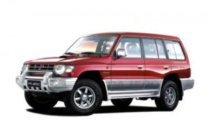 MitsubishiPajero II (правый руль) 5 дверей 1990 - 2004