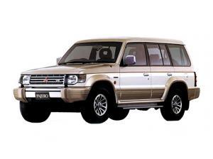 MitsubishiPajero II 1990 - 2004 (левый руль)