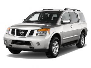 Nissan Armada I (2004-2016) салон 3 ряда