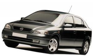 EVA коврики на Opel Astra G 1998 - 2005