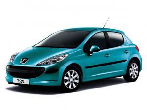 EVA коврики на Peugeot 207 2006 - 2012