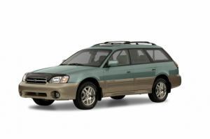 Subaru Outback II 1999-2003 салон