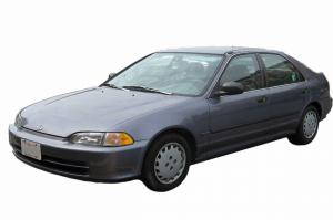 Honda Civic V 4D (1991-1995) салон
