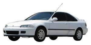 Honda Civic V купе (1991-1995) салон