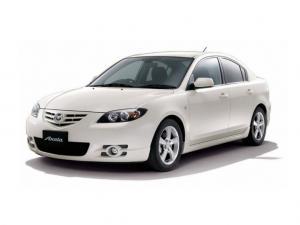 EVA коврики на Mazda Axela (правый руль) 2003 - 2009