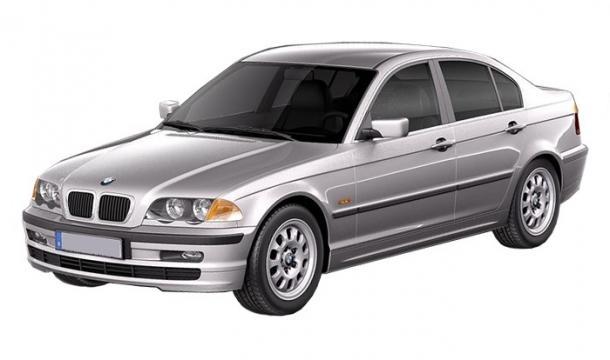 EVA коврики на BMW 3 (Е46) 2WD 1998 - 2006
