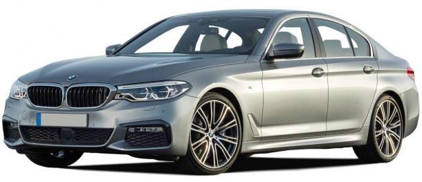 EVA коврики на BMW 5 G30 2016 - нв