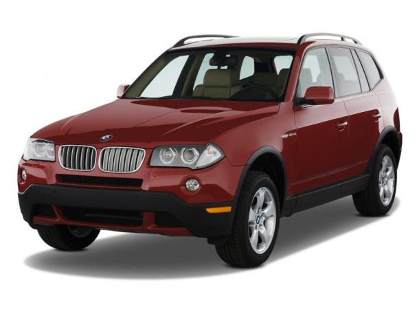 EVA коврики на BMW Х3 (E83) 2004 - 2010