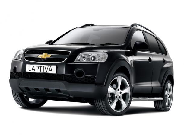 EVA коврики на Chevrolet Captiva 7 мест 2006 - 2011