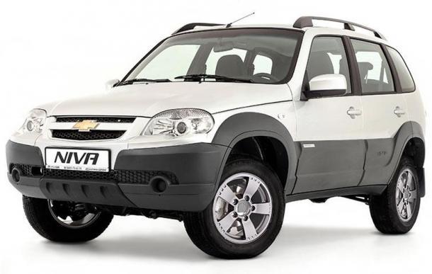 EVA коврики на Chevrolet Niva 2002 - наст. время