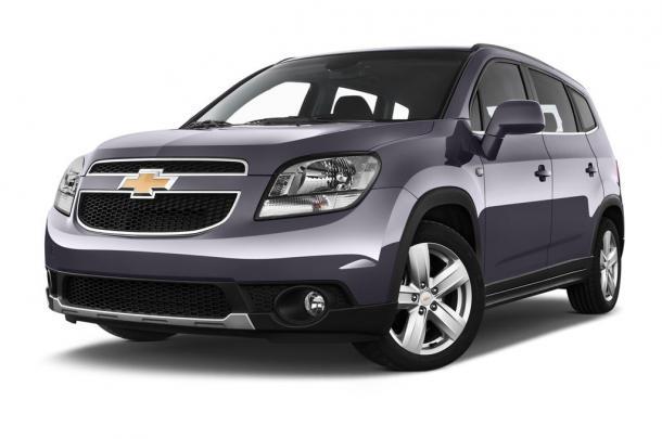 EVA коврики на Chevrolet Orlando 7 мест 2010 - 2015 (3 ряда)