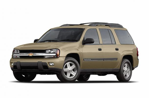 EVA коврики на Chevrolet TrailBlazer 2001 - 2008