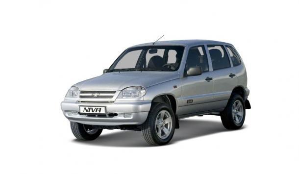 EVA коврики на ChevroletNiva 2002 - 2009