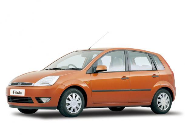 EVA коврики на FordFiestaV 2001 - 2008
