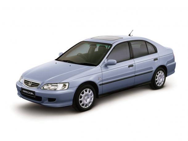 EVA коврики на Honda Accord VI 1997 - 2002