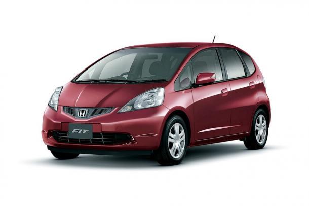 EVA коврики на Honda Fit II (правый руль) 2008 - 2013