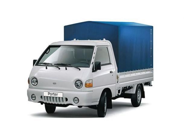 EVA коврики на Hyundai Porter 1996 - 2010