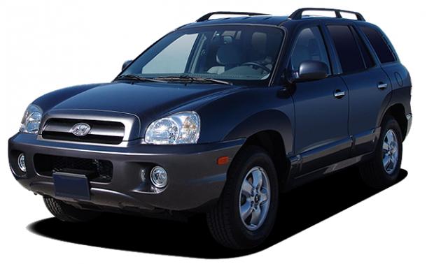 EVA коврики на Hyundai Santa Fe I 2000 - 2012