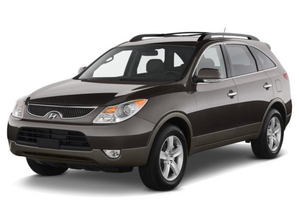 EVA коврики на Hyundai ix555 мест 2008 - 2012 3 ряда