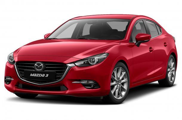 EVA коврики на Mazda 3 (BM) 2013 - 2018