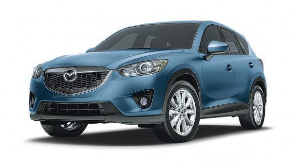 EVA коврики на Mazda CX-5 2011 - 2016