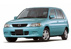 EVA коврики на Mazda Demio I (DW) правый руль 1996-2002