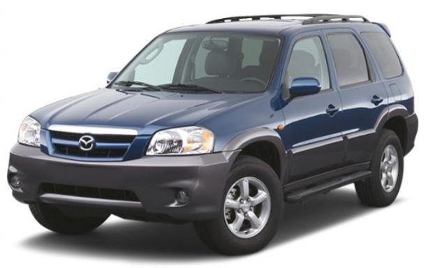 EVA коврики на Mazda Tribute 2000 - 2007