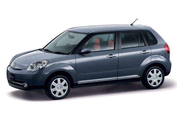 EVA коврики на Mazda Verisa 2004 - наст. время (правый руль)
