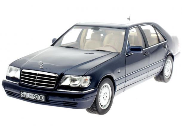 EVA коврики на Mercedes S-класс W140 Long 1991 - 1998