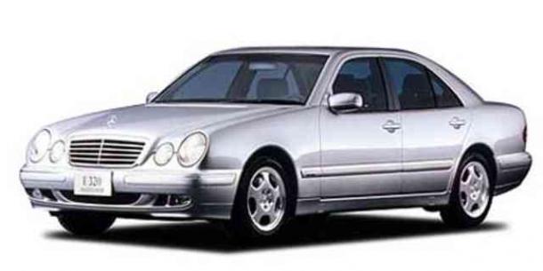 EVA коврики на Mercedes Е-класс W210 1995 - 2003 2WD