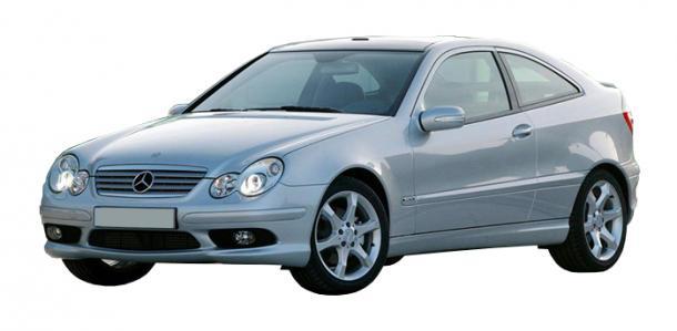 EVA коврики на Mercedes-Benz CLC-klasse (2008–2011) Купе