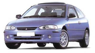 EVA коврики на Mitsubishi Colt V (1996-2003) салон