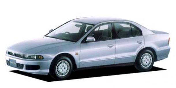 EVA коврики на Mitsubishi Galant VIII (левый руль) Америка 1996 - 2006