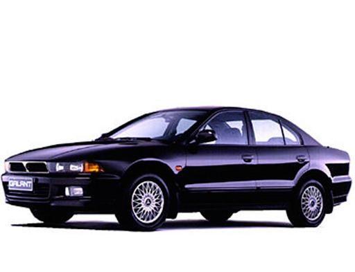 EVA коврики на Mitsubishi Galant VIII (левый руль) Европа 1996 - 2003