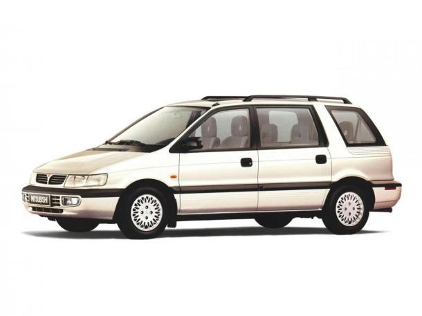 EVA коврики на Mitsubishi Space Wagon II 1991-1998
