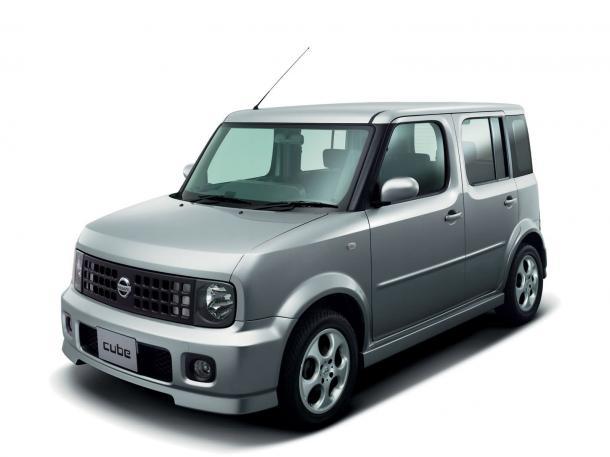EVA коврики на Nissan Cube Cubic II Z11 пр.руль (2004-2008) салон
