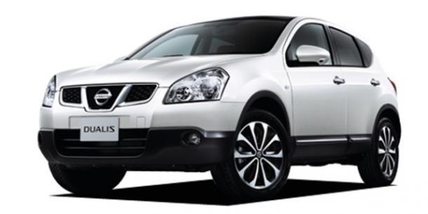 EVA коврики на Nissan Dualis (правый руль) 2006-2013