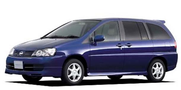EVA коврики на Nissan Liberty I пр.руль (1998-2004) салон