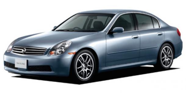EVA коврики на Nissan Skyline (V35) 2001 - 2007 (правый руль)