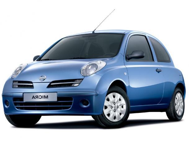 EVA коврики на NissanMicra (K12) 2003 - 2010