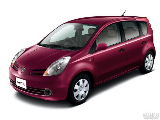 EVA коврики на Nissan Note I (правый руль) 2004 - 2013