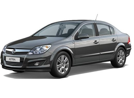 EVA коврики на Opel Astra H (седан) 2004 - 2012